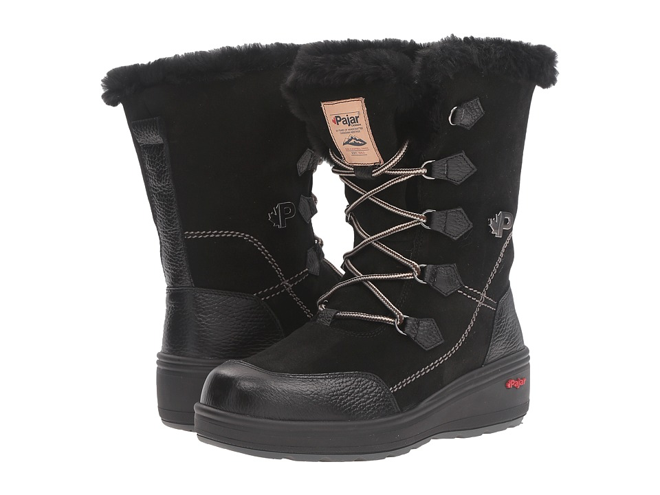 Pajar CANADA - Valerie (Black/Black) Women's Cold Weather Boots
