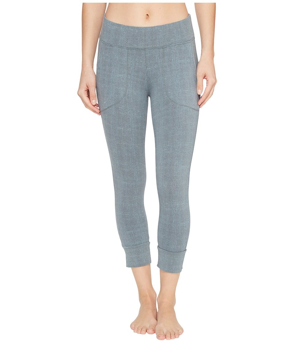 Columbia - State of Mind Capri Leggings (Pond Dotty Dye) Women's Casual Pants