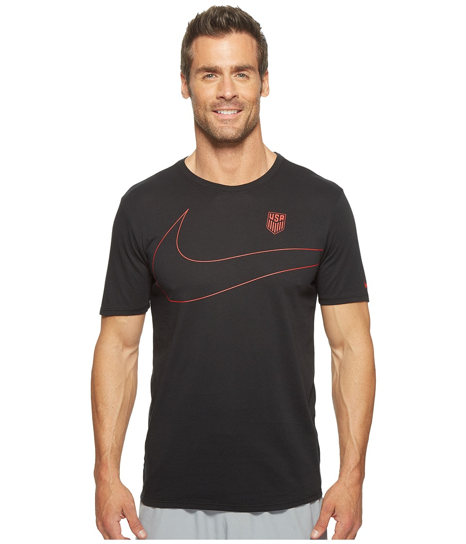 Nike - U.S. Preseason T-Shirt (Black) Men's T Shirt