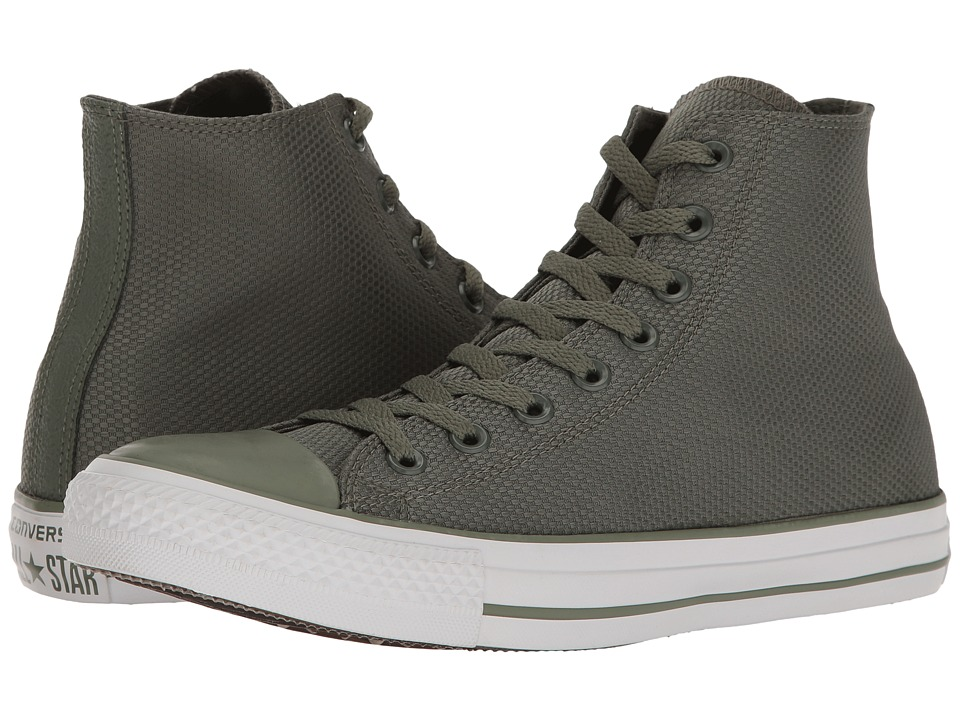 Converse - Chuck Taylor(r) All Star(r) Tough Textile Hi (Submarine/White/Brown) Classic Shoes