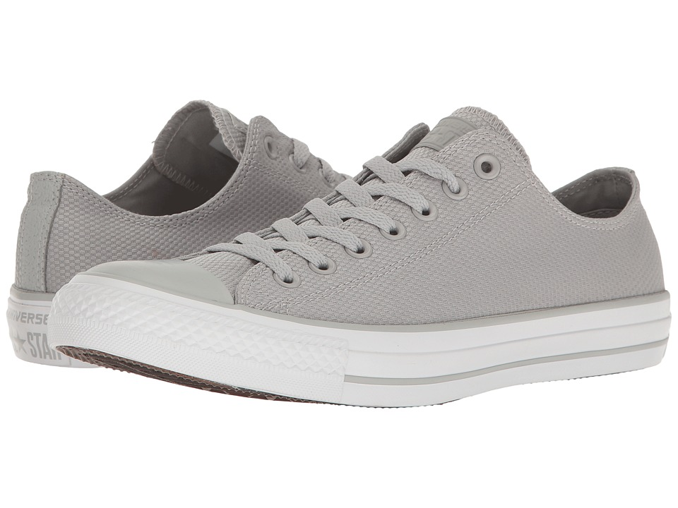Converse - Chuck Taylor All Star Tough Textile Ox (Ash Grey/White/Brown) Classic Shoes
