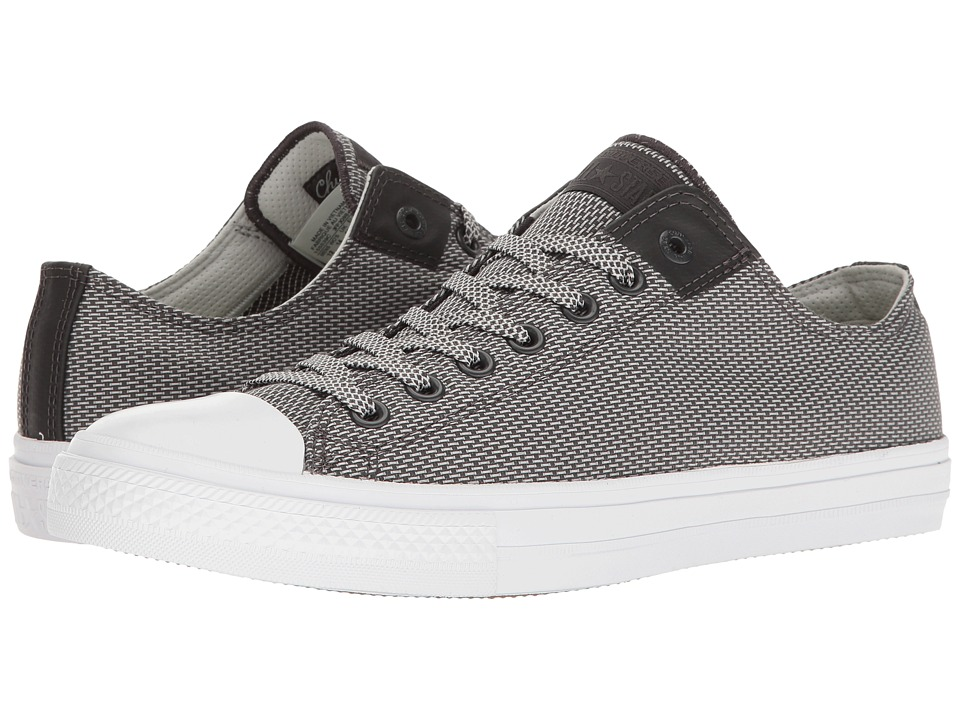 Converse Chuck Taylor All Star Chuck II Woven Ox (Storm Wind/Mouse/White) Classic Shoes