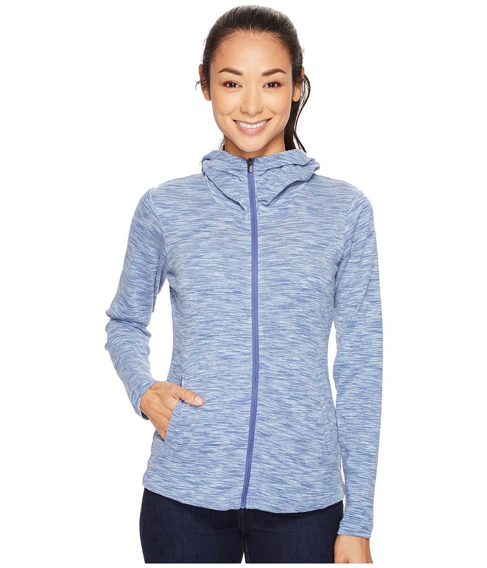 Columbia OuterSpaced Full Zip Hoodie (Bluebell Spacedye) Women