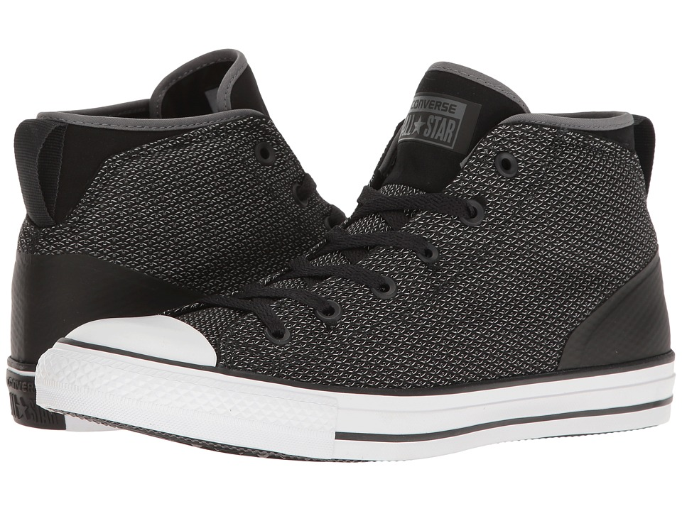 Converse Chuck Taylor(r) All Star(r) Syde Street Reflective Mid (Thunder/Black/White) Men