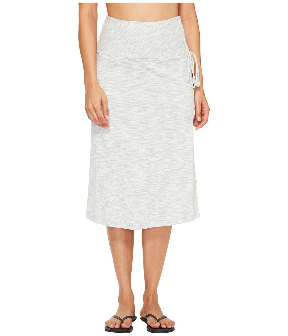 Columbia OuterSpacedtm Skirt (White Spacedye) Women