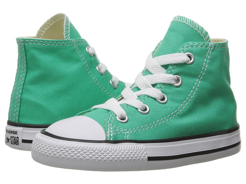 Converse Kids - Chuck Taylor All Star Hi (Infant/Toddler) (Menta) Girl's Shoes