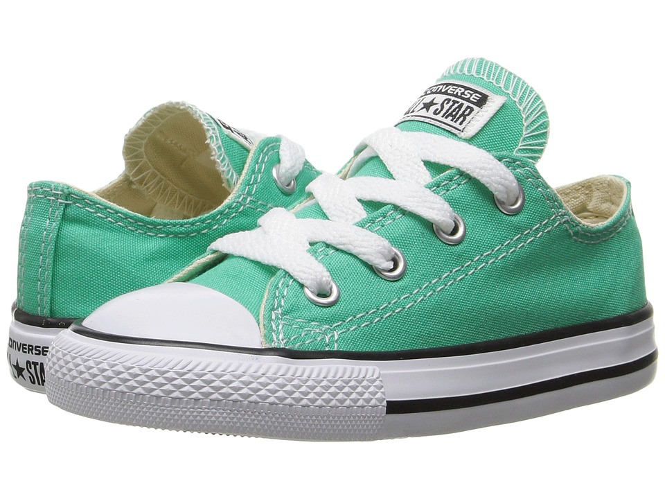 Converse Kids - Chuck Taylor All Star Ox (Infant/Toddler) (Menta) Girl's Shoes