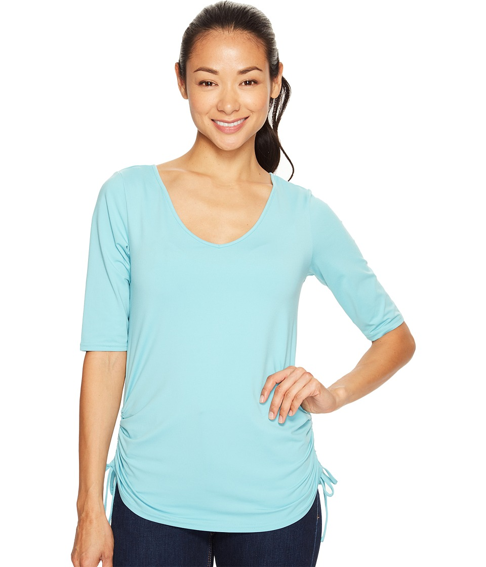 Columbia - Anytime Casual II Tee (Iceberg) Women's Short Sleeve Pullover