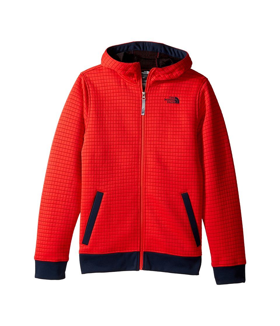The North Face Kids - Griddy Hoodie (Little Kids/Big Kids) (High Risk Red (Prior Season)) Boy's Sweatshirt