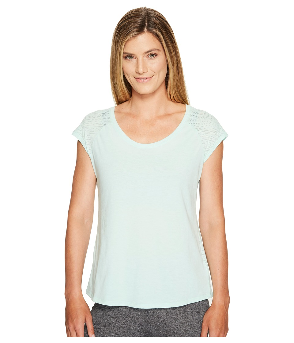Columbia - See Through You Burnout II Tee (Sea Ice Dotty Dye Burnout) Women's Short Sleeve Pullover