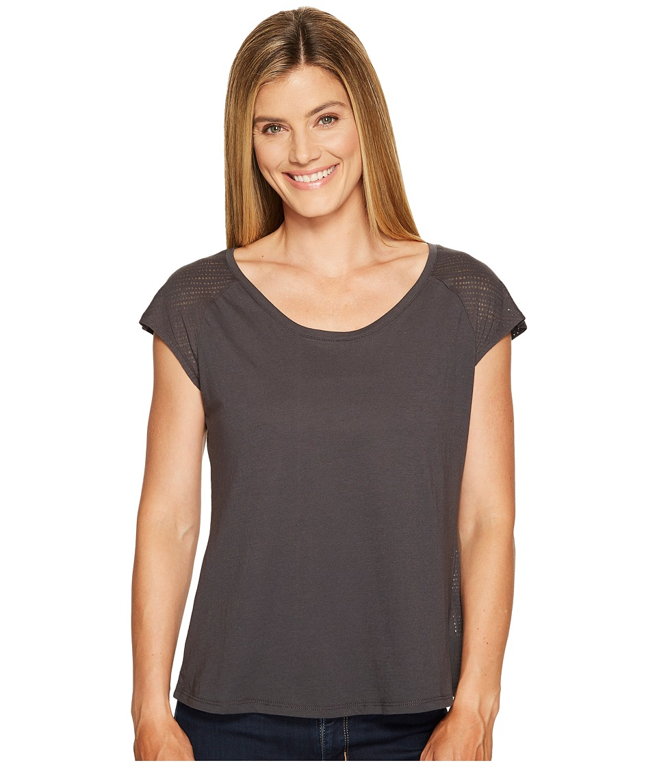 Columbia - See Through You Burnout II Tee (Shark Dotty Dye Burnout) Women's Short Sleeve Pullover