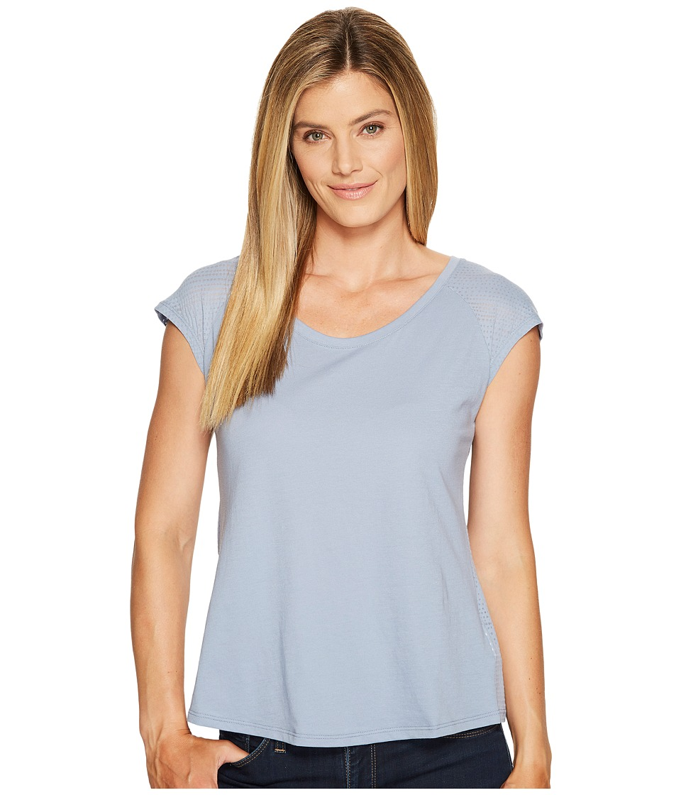 Columbia - See Through You Burnout II Tee (Beacon Dotty Dye Burnout) Women's Short Sleeve Pullover
