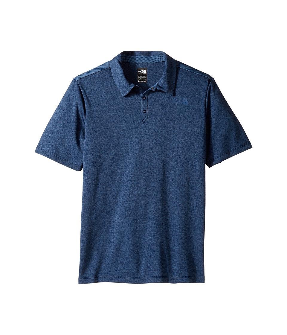 The North Face Kids - Polo Shirt (Little Kids/Big Kids) (Cosmic Blue (Prior Season)) Boy's Short Sleeve Knit