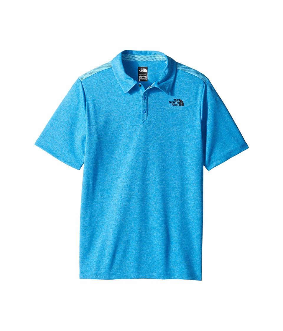 The North Face Kids - Polo Shirt (Little Kids/Big Kids) (Clear Lake Blue (Prior Season)) Boy's Short Sleeve Knit