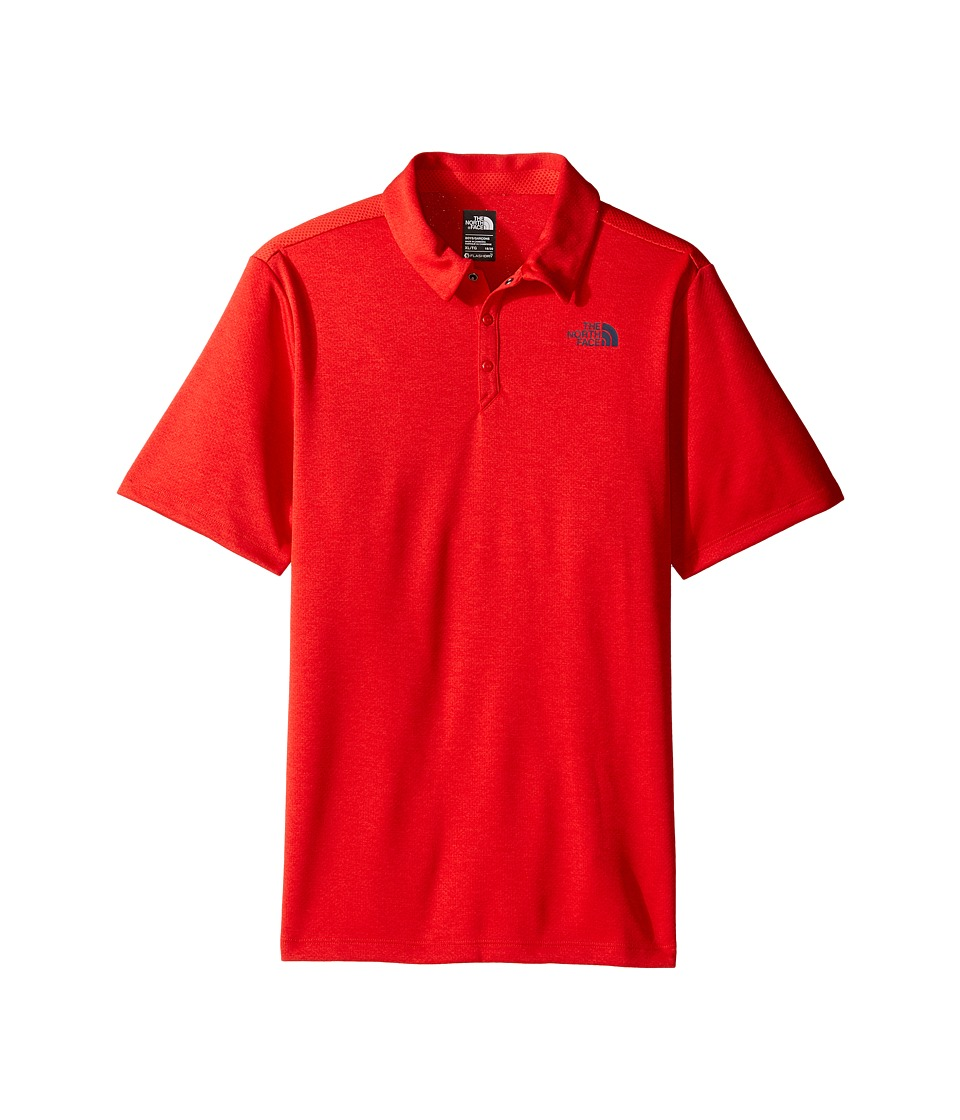 The North Face Kids - Polo Shirt (Little Kids/Big Kids) (High Risk Red (Prior Season)) Boy's Short Sleeve Knit