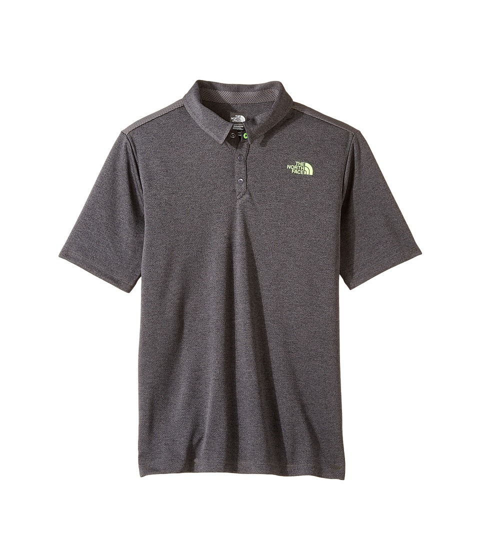 The North Face Kids - Polo Shirt (Little Kids/Big Kids) (Graphite Grey (Prior Season)) Boy's Short Sleeve Knit