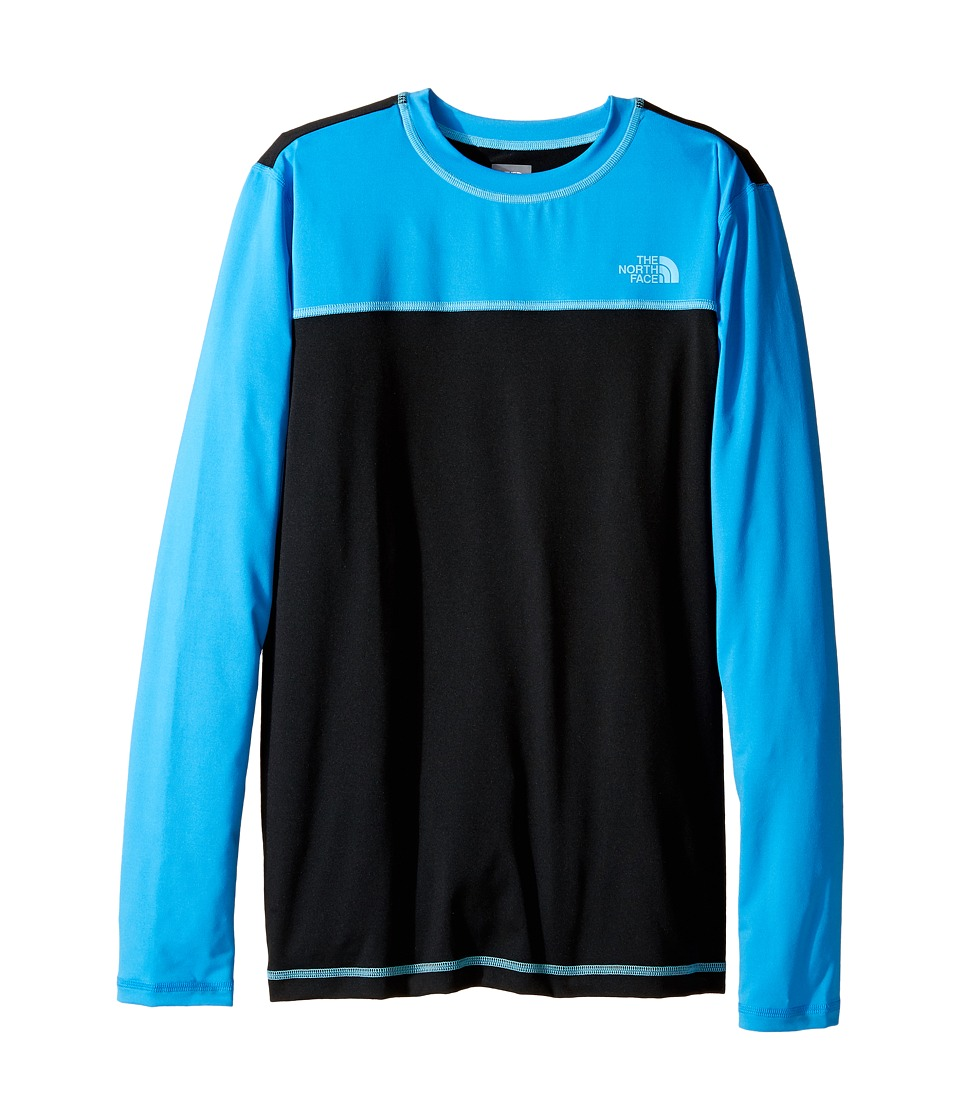 The North Face Kids - Long Sleeve Hike/Water Tee (Little Kids/Big Kids) (TNF Black (Prior Season)) Boy's T Shirt