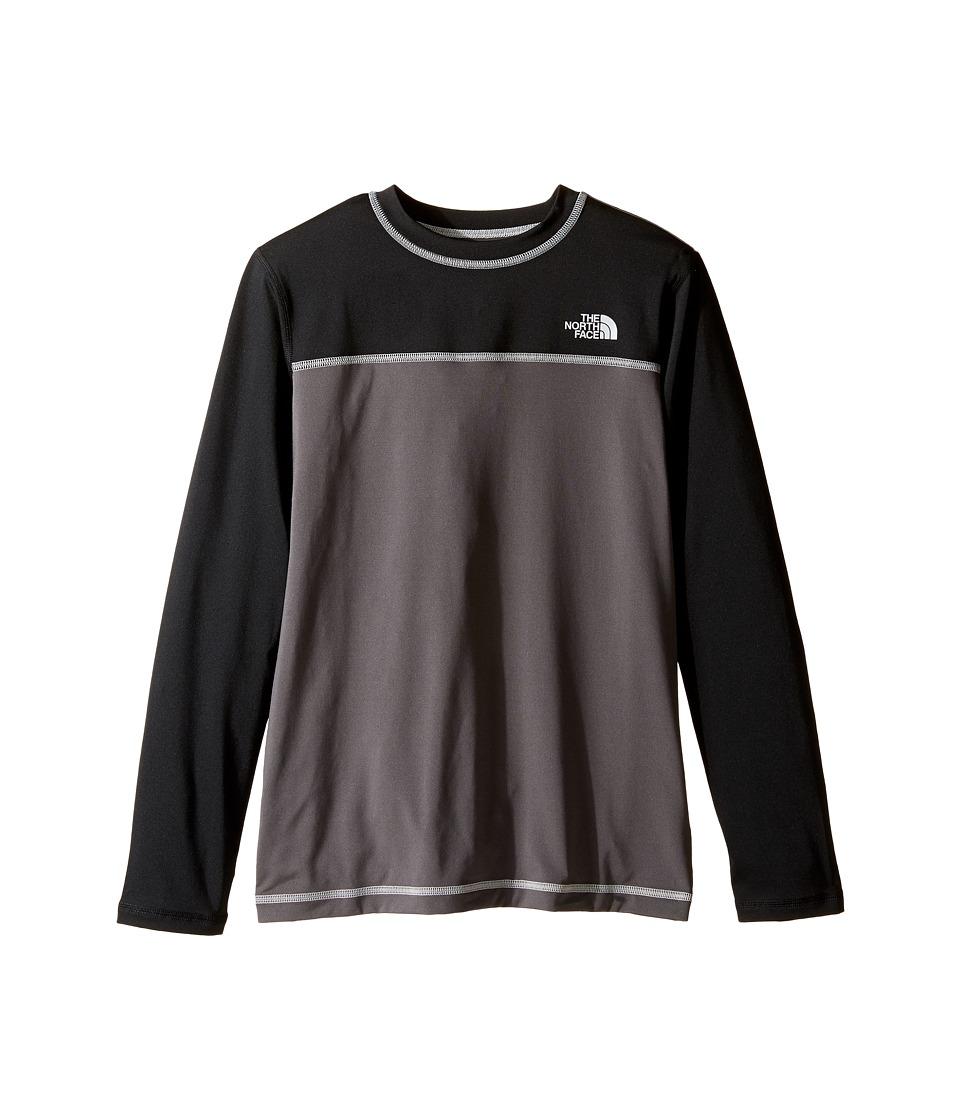 The North Face Kids - Long Sleeve Hike/Water Tee (Little Kids/Big Kids) (Graphite Grey (Prior Season)) Boy's T Shirt