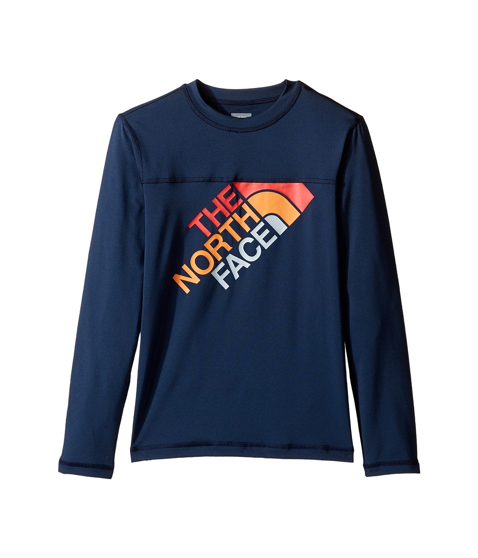 The North Face Kids - Long Sleeve Hike/Water Tee (Little Kids/Big Kids) (Cosmic Blue (Prior Season)) Boy's T Shirt