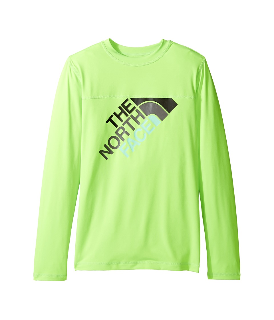 The North Face Kids - Long Sleeve Hike/Water Tee (Little Kids/Big Kids) (Power Green (Prior Season)) Boy's T Shirt