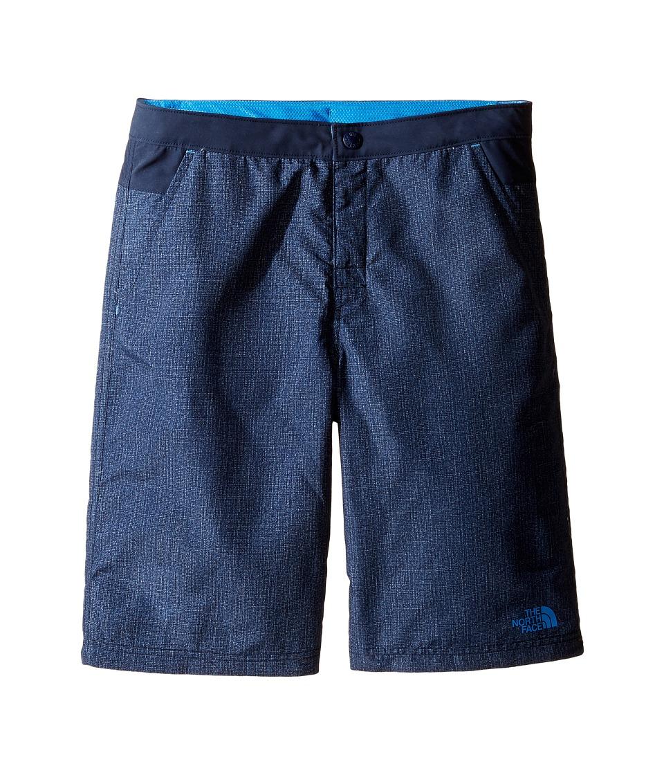 The North Face Kids - Hike/Water Shorts (Little Kids/Big Kids) (Cosmic Blue Denim Hike Print (Prior Season)) Boy's Shorts