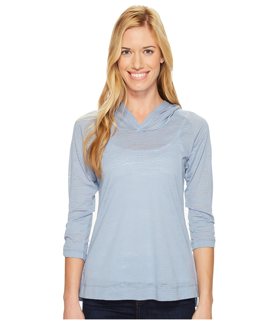 Columbia - See Through You Burnout Hoodie (Beacon Dotty Dye Burnout) Women's Sweatshirt