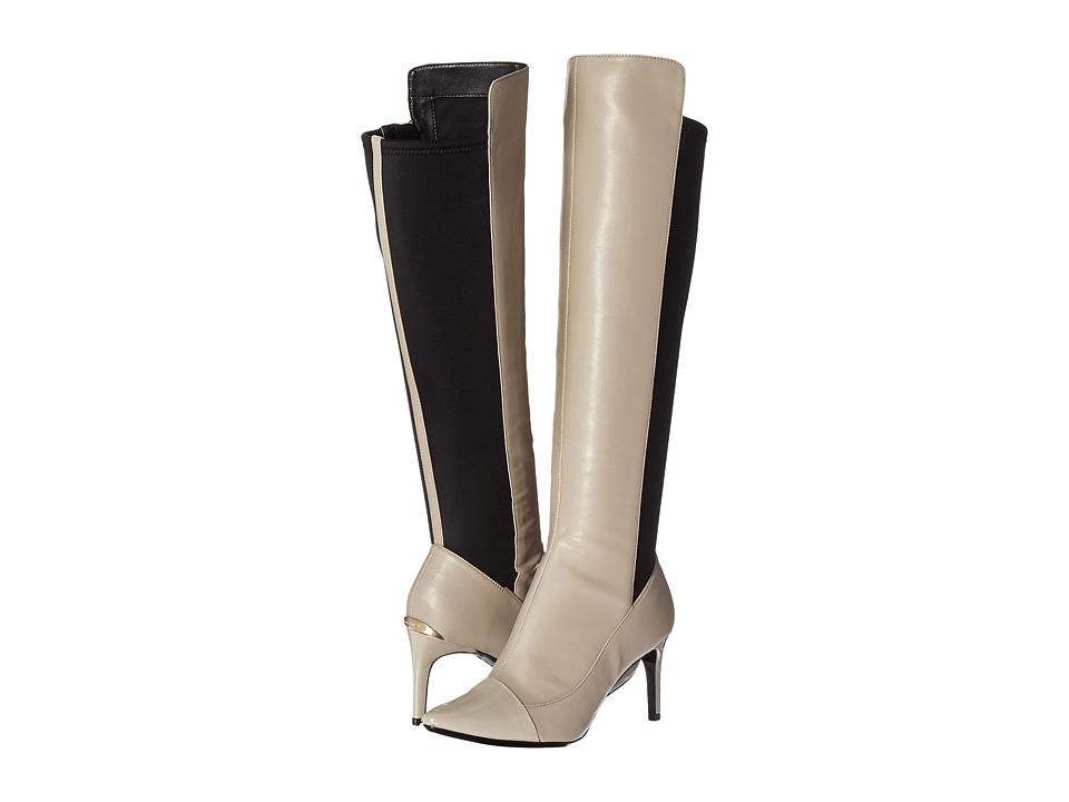 Calvin Klein Gamay (Clay/Black Leather/Patent/Neoprene) Women