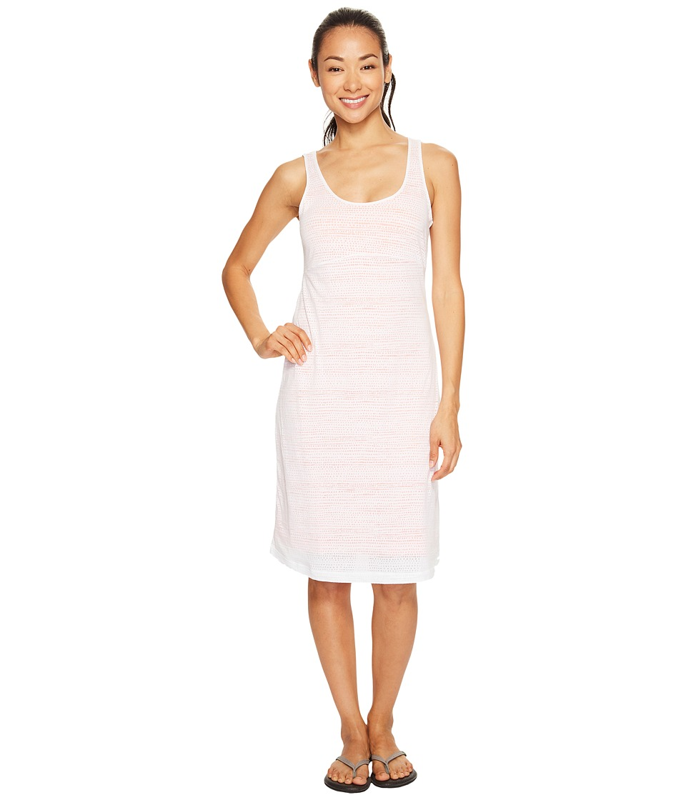 Columbia - See Through You Burnout Dress (White Dotty Dye Burnout) Women's Dress