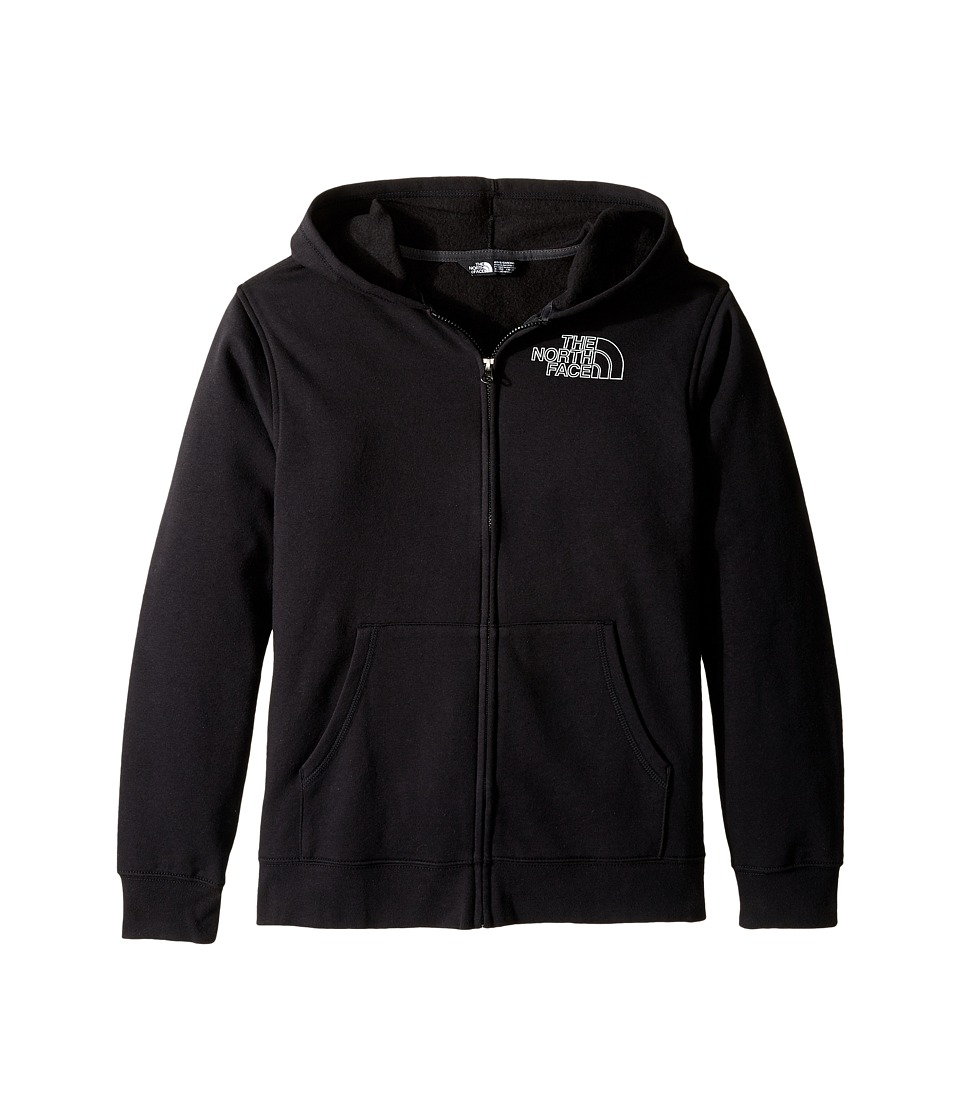 The North Face Kids - Logowear Full Zip Hoodie (Little Kids/Big Kids) (TNF Black (Prior Season)) Boy's Sweatshirt