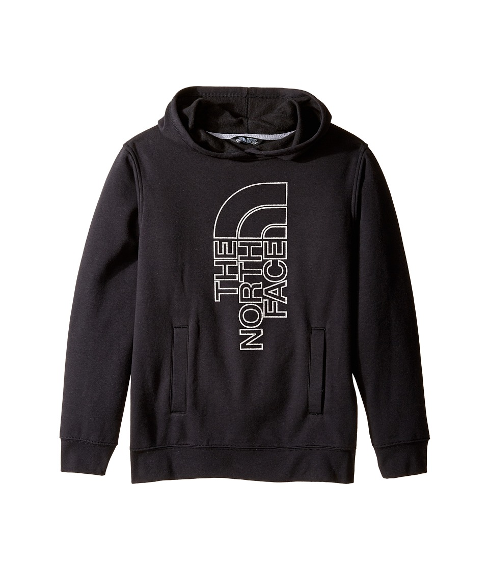 The North Face Kids - Logowear Pullover Hoodie (Little Kids/Big Kids) (TNF Black (Prior Season)) Boy's Sweatshirt