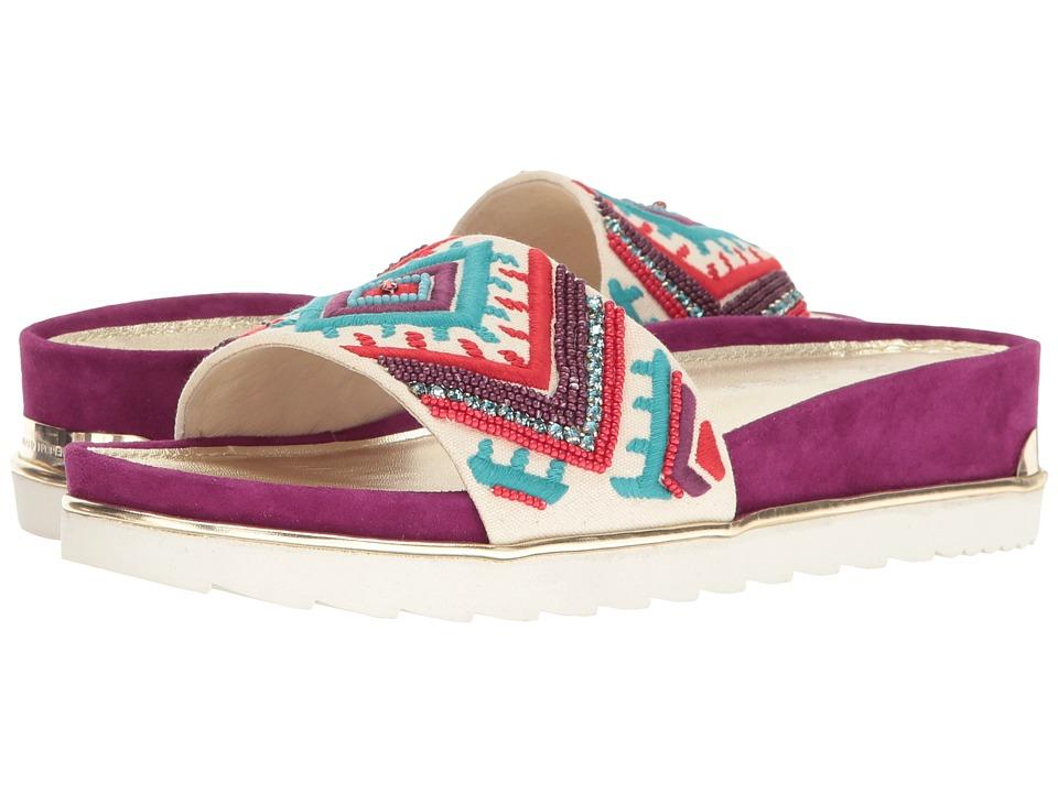Donald J Pliner - Cava 3 SP (Turquoise) Women's Wedge Shoes