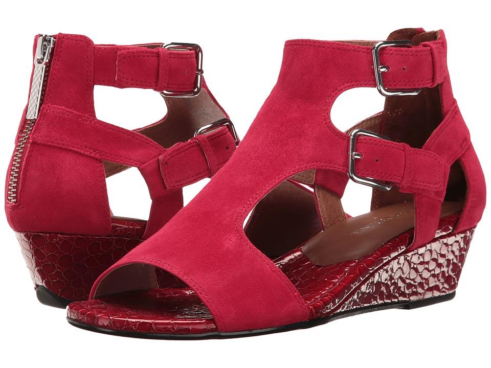 Donald J Pliner - Eden (Poppy Kid Suede) Women's Wedge Shoes