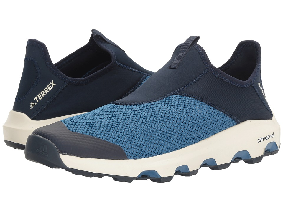 adidas Outdoor - Terrex Climacool Voyager Slip-On (Core Blue/Collegiate Navy/Chalk White) Men's Shoes