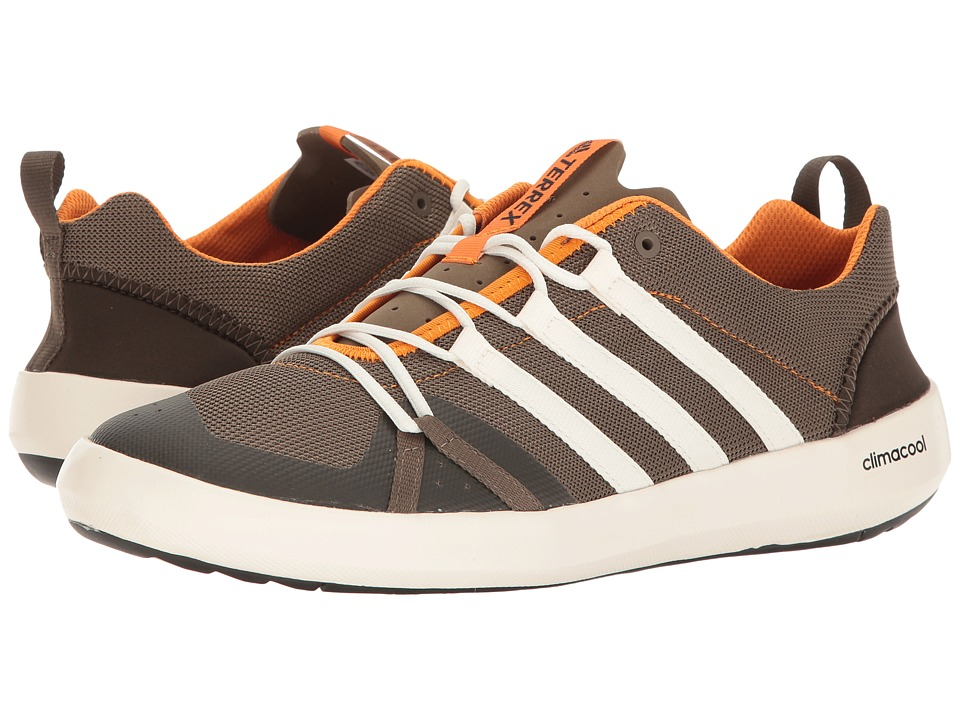 adidas Outdoor - Terrex Climacool Boat (Cargo Brown/Chalk White/Umber) Men's Shoes