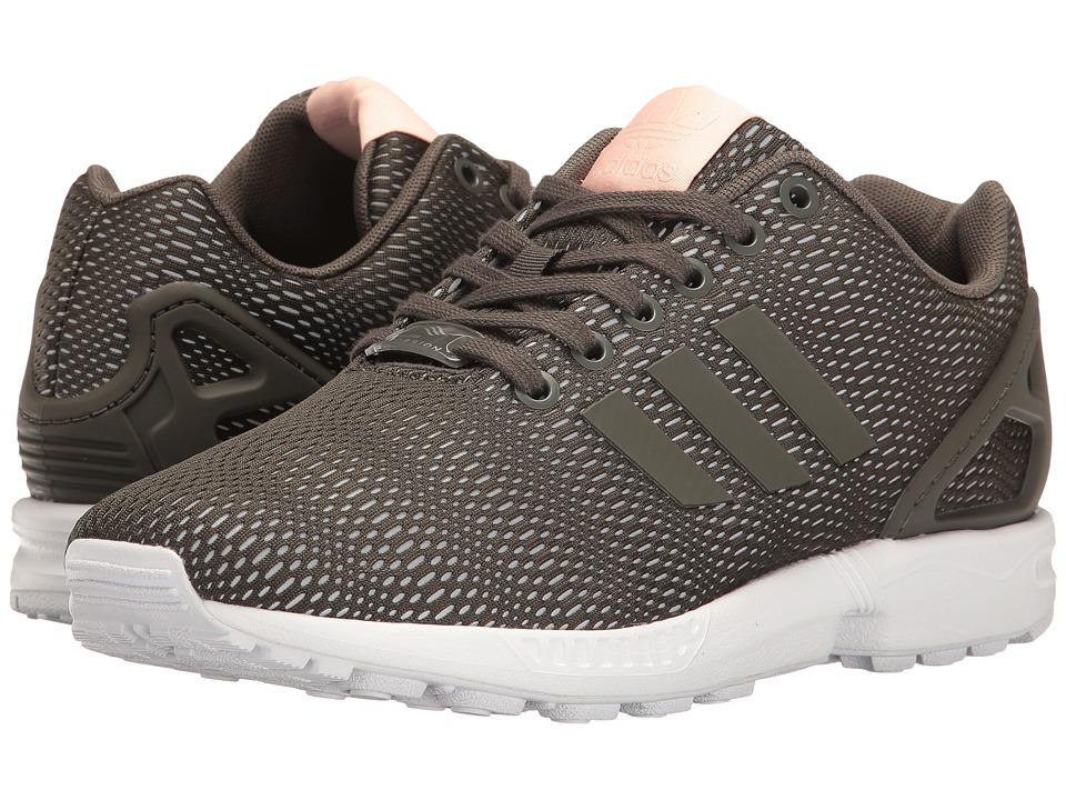 adidas Originals ZX Flux 3 (Utility Grey/Utility Grey/Footwear White) Women