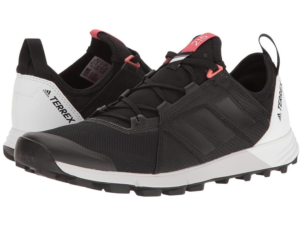 adidas Outdoor Terrex Agravic Speed (Black/Black/White) Women