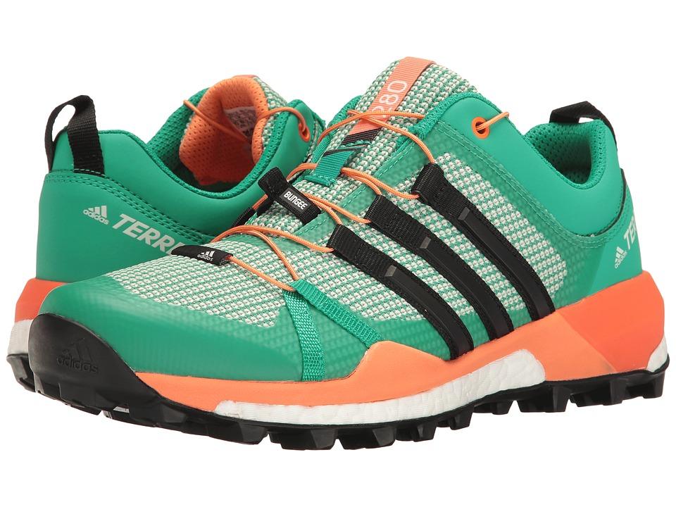 adidas Outdoor - Terrex Skychaser (Core Green/Black/Easy Orange) Women's Shoes