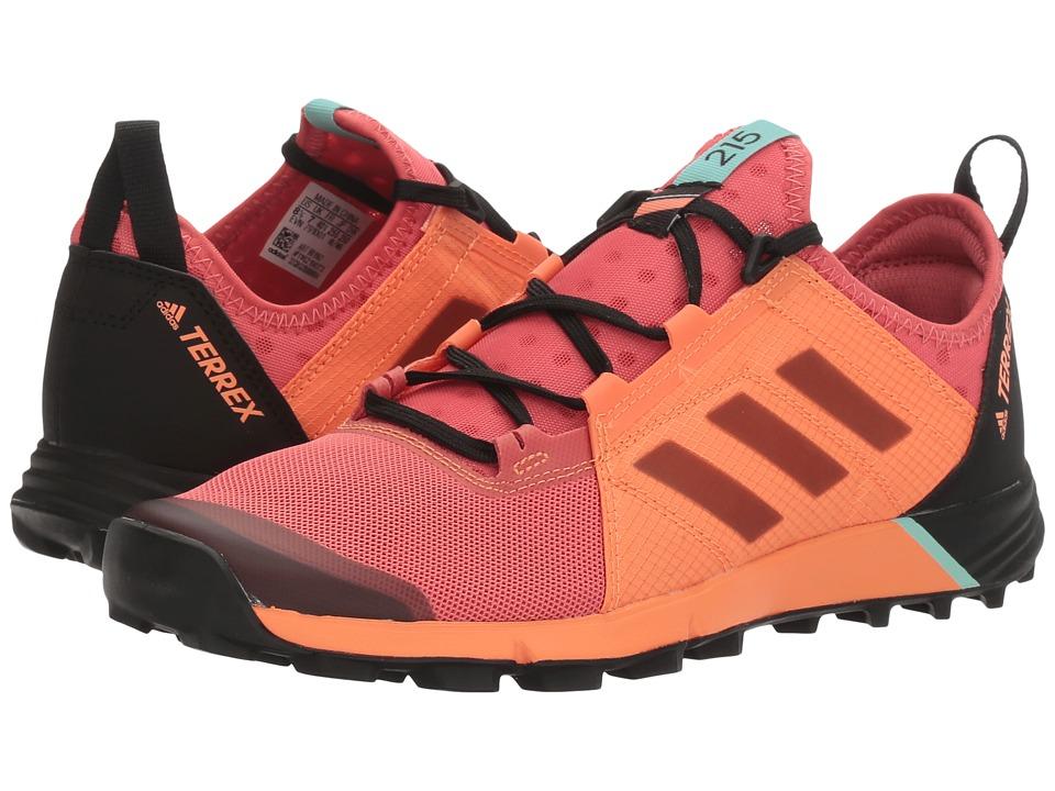 adidas Outdoor - Terrex Agravic Speed (Tactile Pink/Black/Easy Orange) Women's Shoes