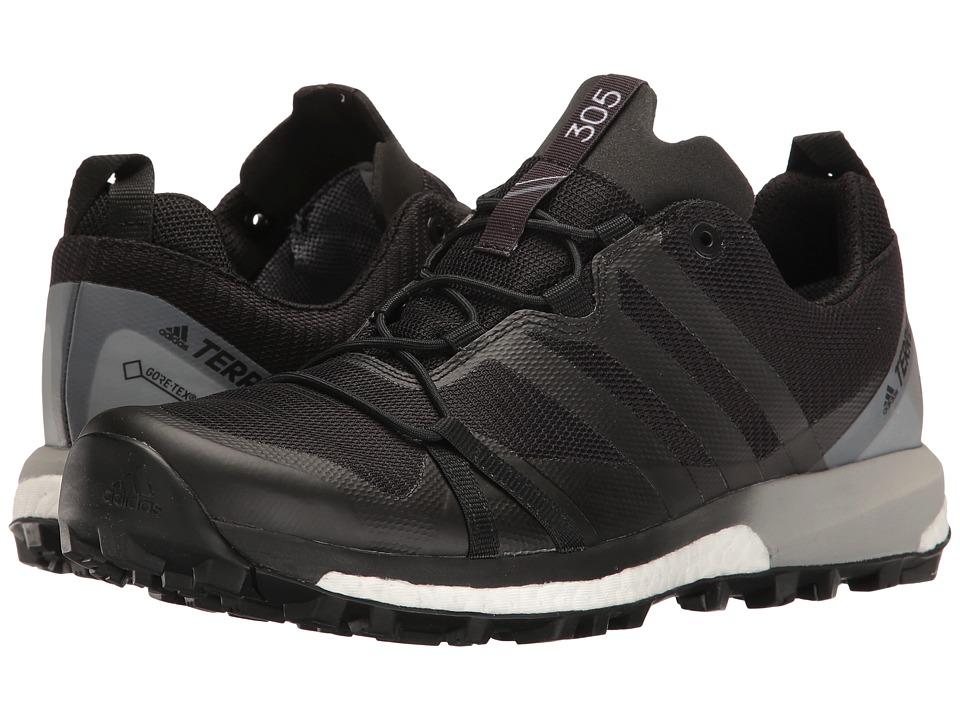 adidas Outdoor Terrex Agravic GTX (Black/Black/White) Women