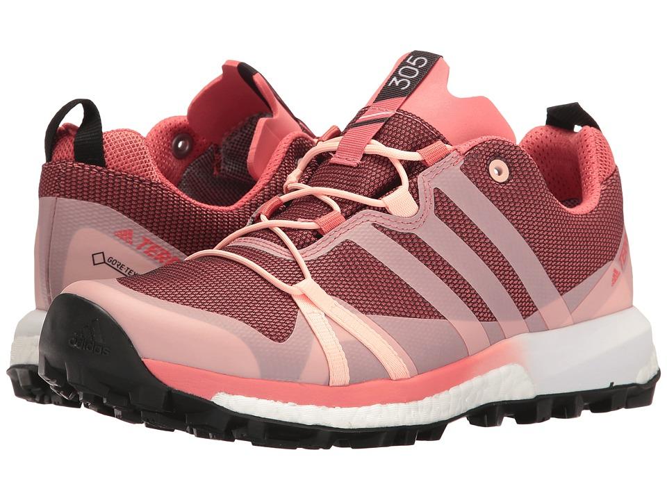 adidas Outdoor Terrex Agravic GTX (Tactile Pink/Haze Coral/White) Women