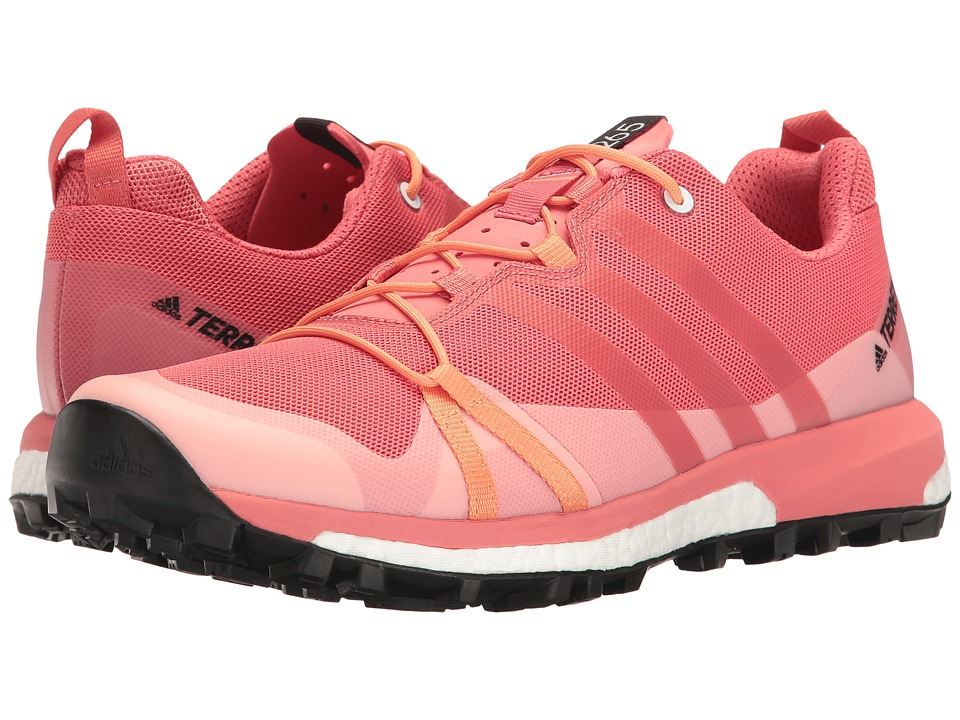 adidas Outdoor - Terrex Agravic (Tactile Pink/Tactile Pink/Easy Orange) Women's Shoes