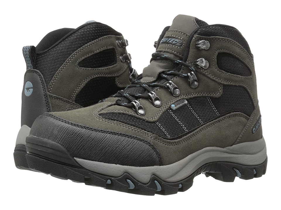 Hi-Tec - Skamania Mid Waterproof (Gull Grey/Black/Goblin Blue) Men's Shoes