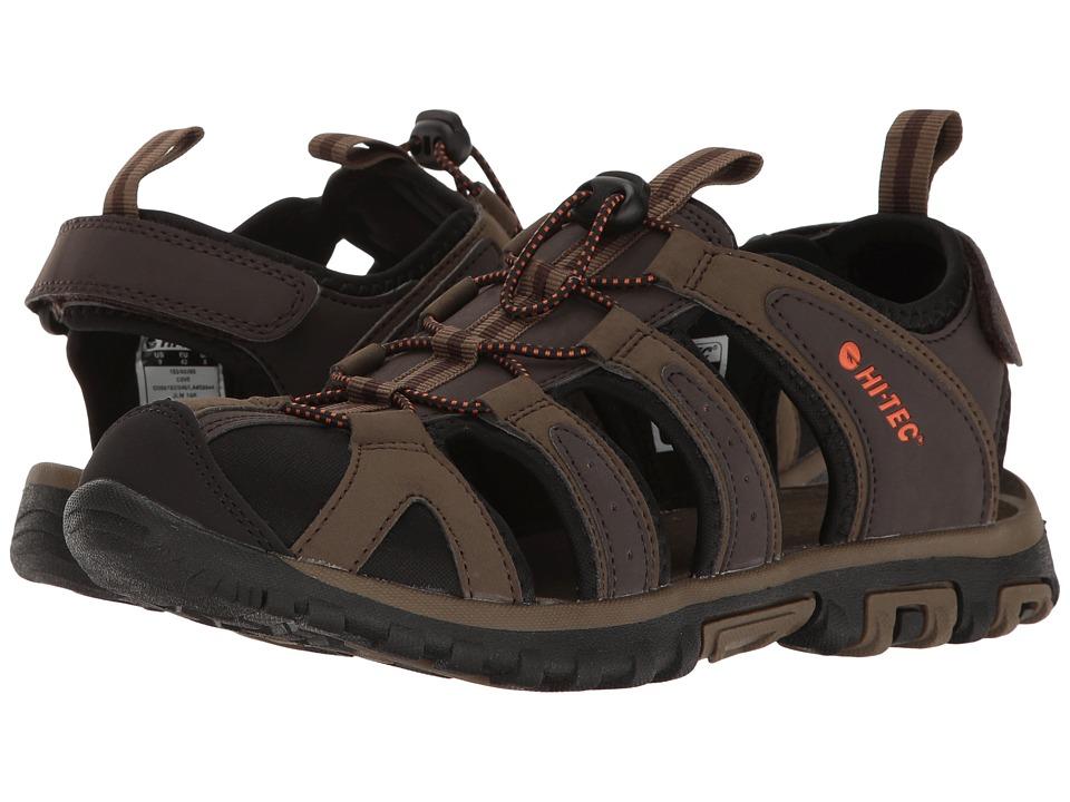 Hi-Tec - Cove (Dark Chocolate/Burnt Orange) Men's Shoes