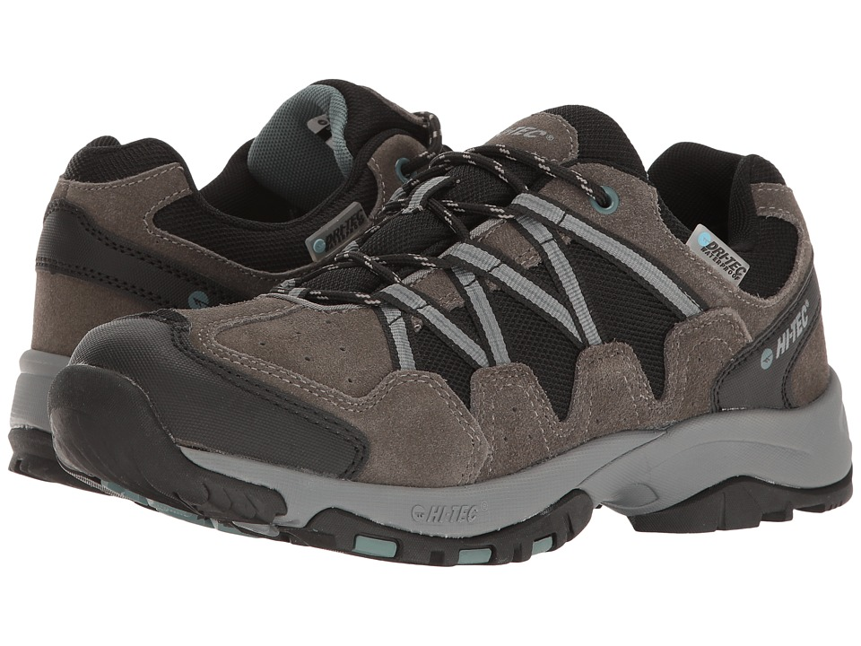 Hi-Tec - Dexter Low Waterproof (Gull Grey/Black/Goblin Blue) Men's Boots