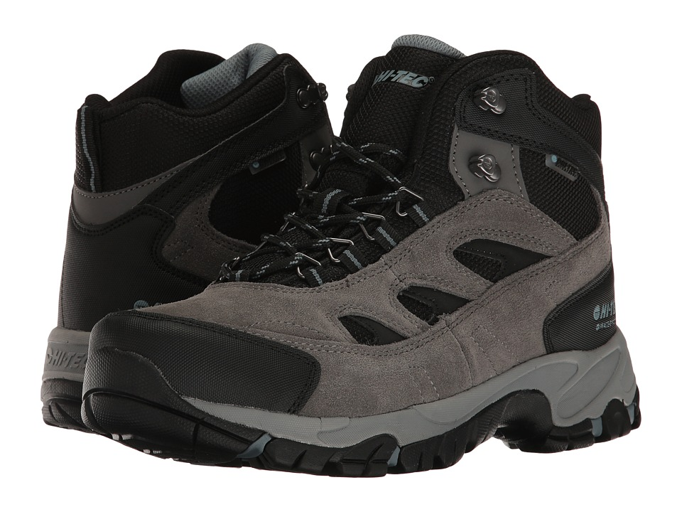Hi-Tec - Logan WP (Gull Grey/Black/Goblin Blue) Men's Hiking Boots
