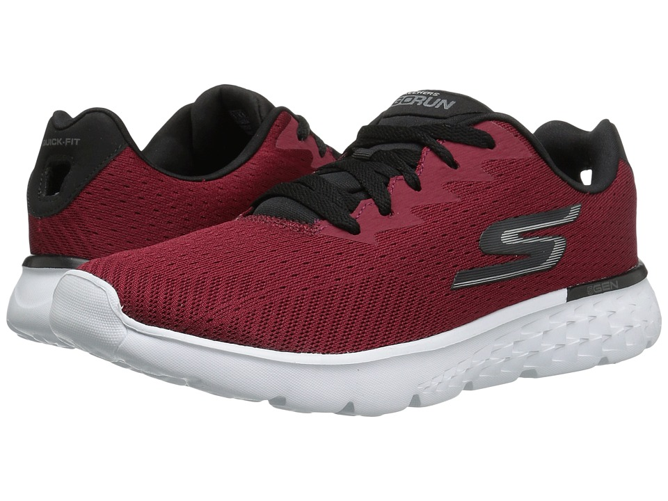 SKECHERS - Go Run 400 (Red/Black) Men's Running Shoes
