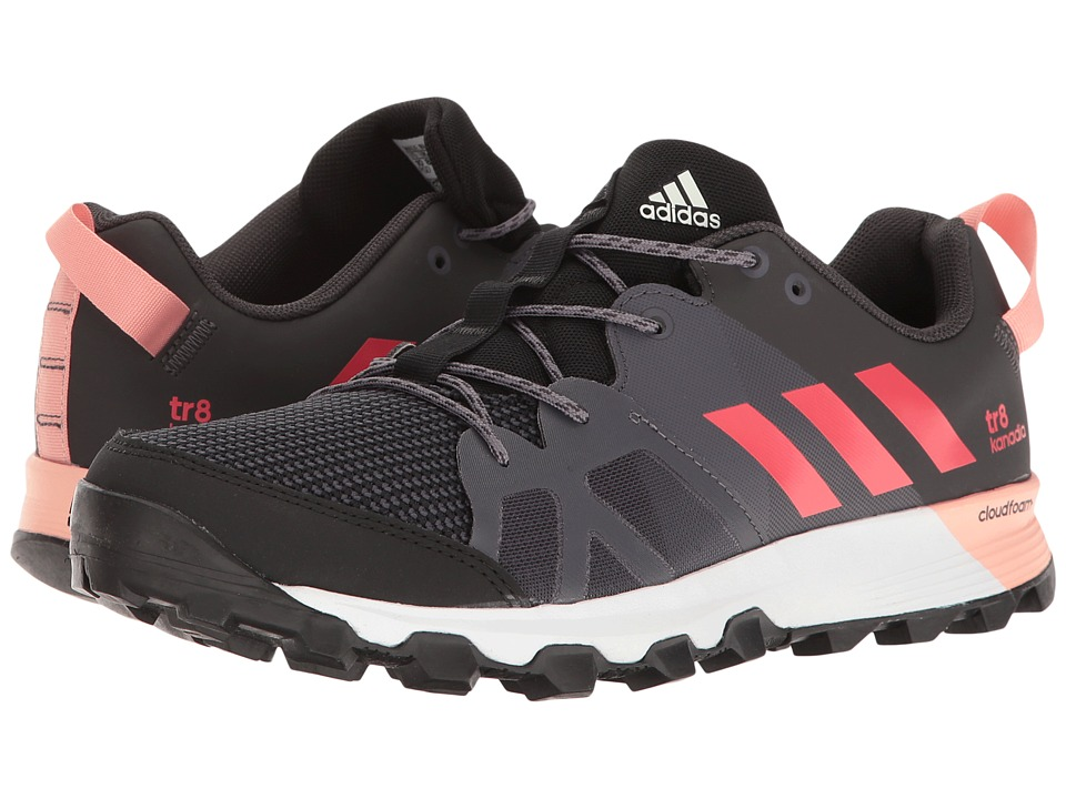 adidas Outdoor - Kanadia 8 TR (Black/Core Pink/Trace Grey) Women's Running Shoes