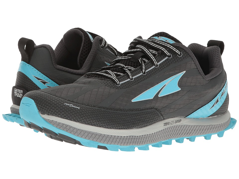 Altra Footwear Superior 3 (Charcoal/Blue) Women