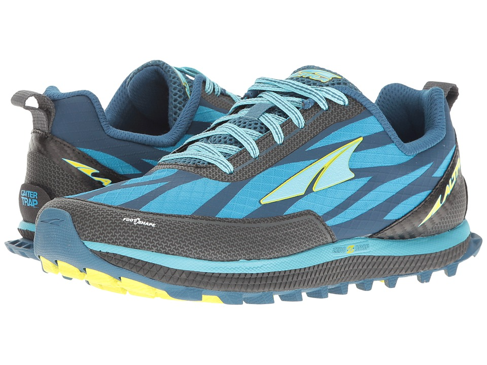Altra Footwear Superior 3 (Blue/Lime) Women
