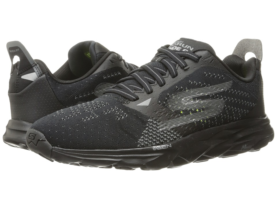 SKECHERS - Go Run Ride 6 (Black) Men's Running Shoes